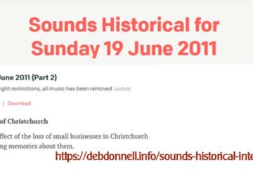 Sounds Historical