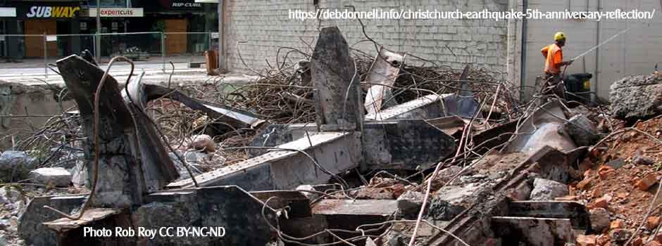 Christchurch Earthquake 5th Anniversary Reflection