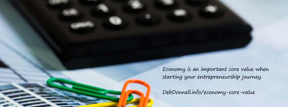 Economy – An Important Core Value