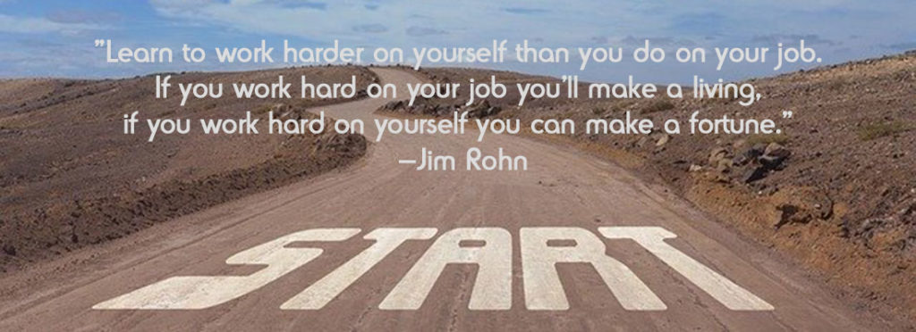 work harder on yourself